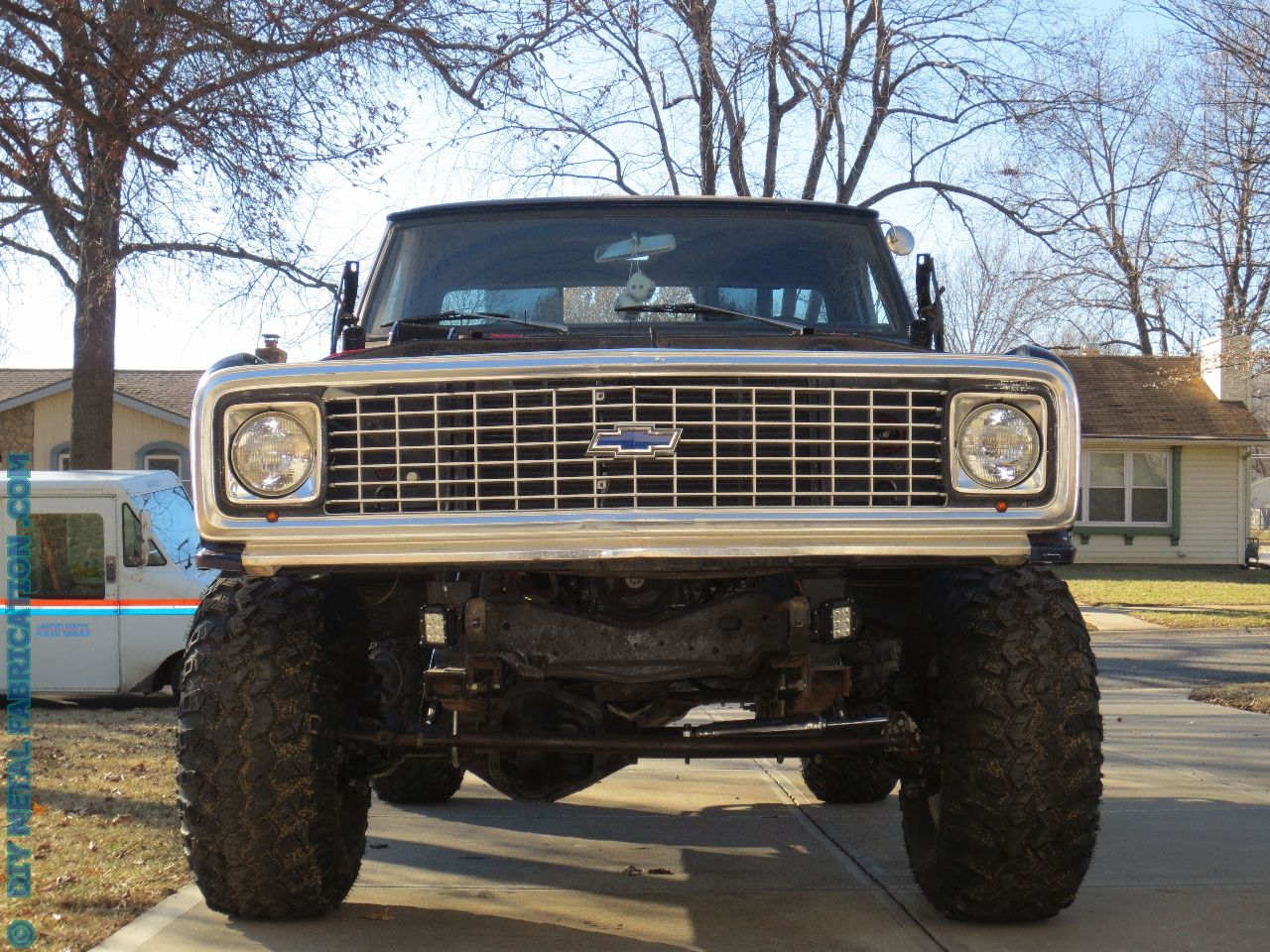 53 Ls Engine Swap Into Ol Blue 1971 Chevy Truck Part 8 Finally I 1986 K30 Military Wiring Diagram Get To Drive It