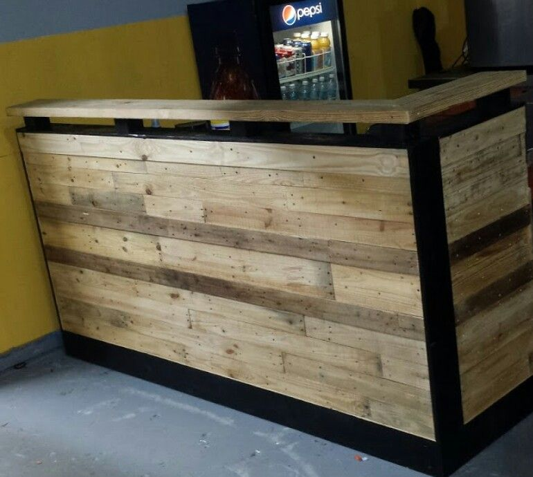 Barra Rustica Idees De Bar Meuble Bois Meuble Palette