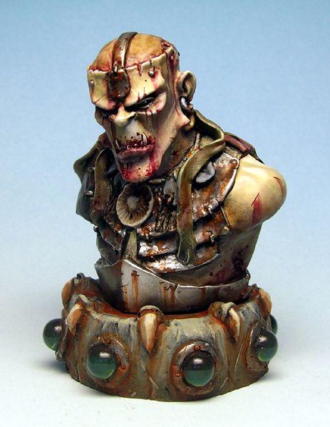 skrill bust by sculptart31 on DeviantArt