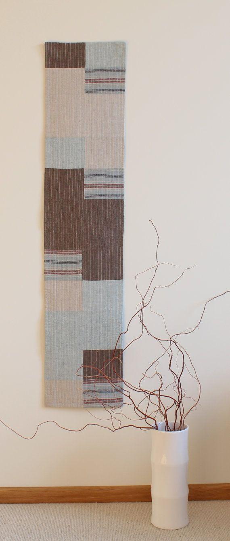 Linen Wall hanging or Runner