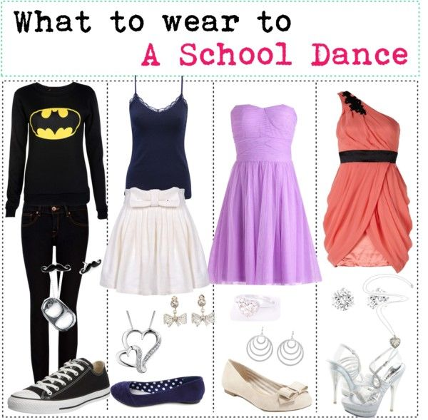 Wear to what in school dance photos