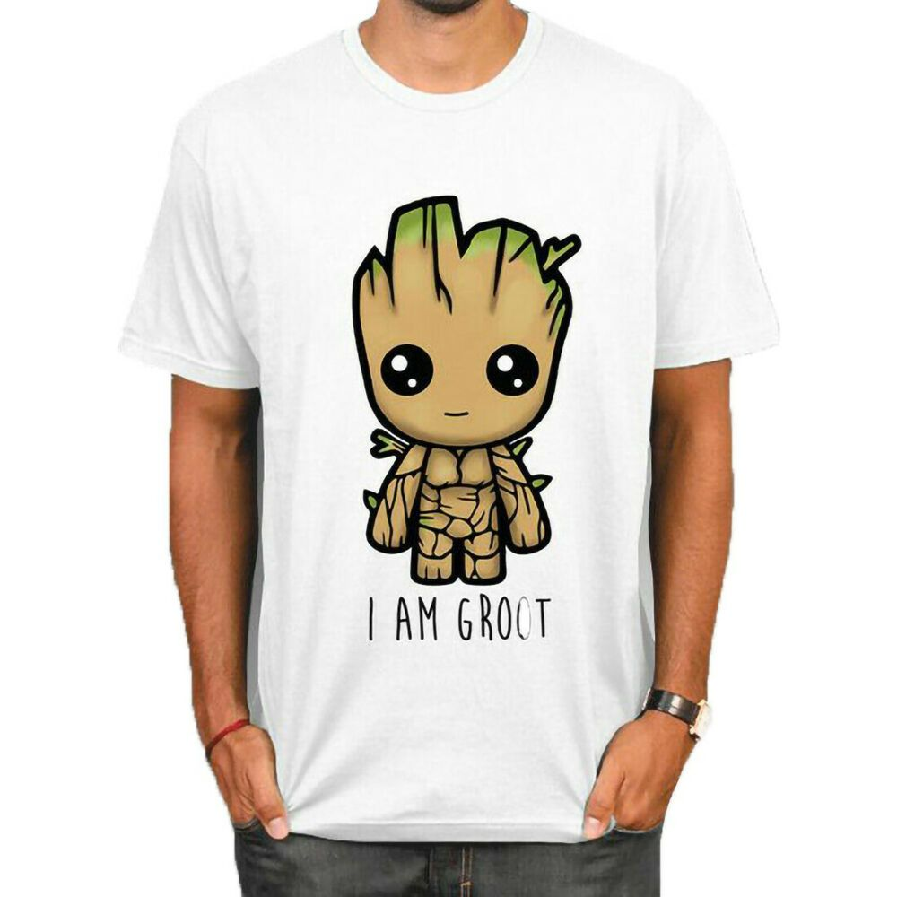 Womens Groot T-Shirt Guardians Of The Galaxy