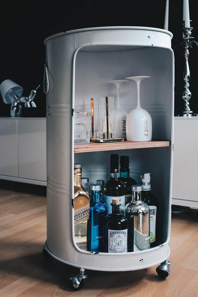 Drinks, Drinks, Drinks! Die perfekte Hausbar LIVING - FASHION - kleine bar im wohnzimmer