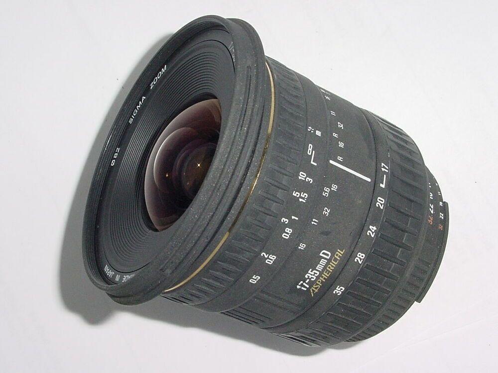 Sigma 17 35mm F 2 8 4 D Af Aspherical Wide Angle Zoom Lens For Nikon Af Ex Stuff To Buy Zoom Lens Wide Angle