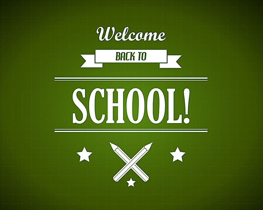 Welcome back to school poster, download for free on heypik