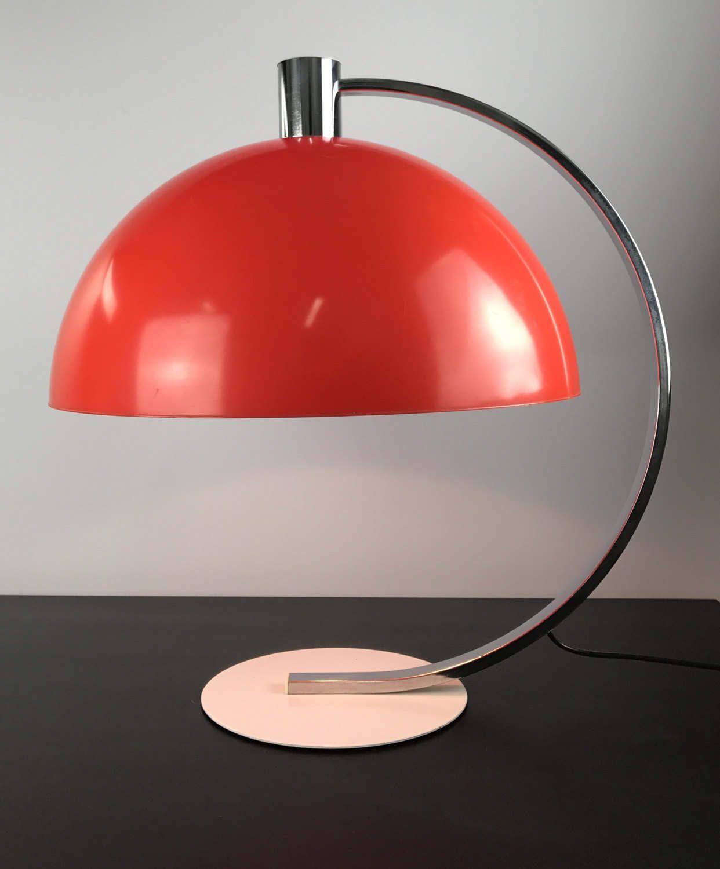 Large german table lamp by Hustadt Leuchten | Lamp, Table