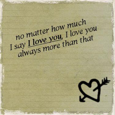 Engelse Liefdes Plaatjes No Matter How Much I Say I Love