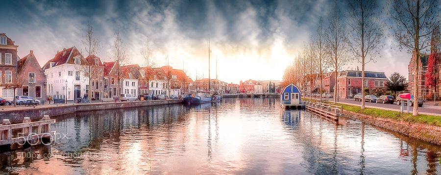 Weesp - Sunrise by AdriRomeijnders