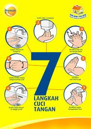 Hasil Gambar Untuk 7 Langkah Cuci Tangan Mencuci Tangan