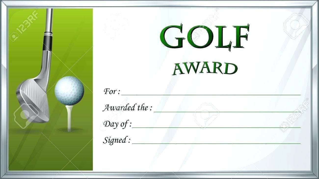 The Exciting Golf Gift Certificate Template Basic Free Gift Certificate Intended For Certificate Templates Gift Certificate Template Holiday Gift Certificates
