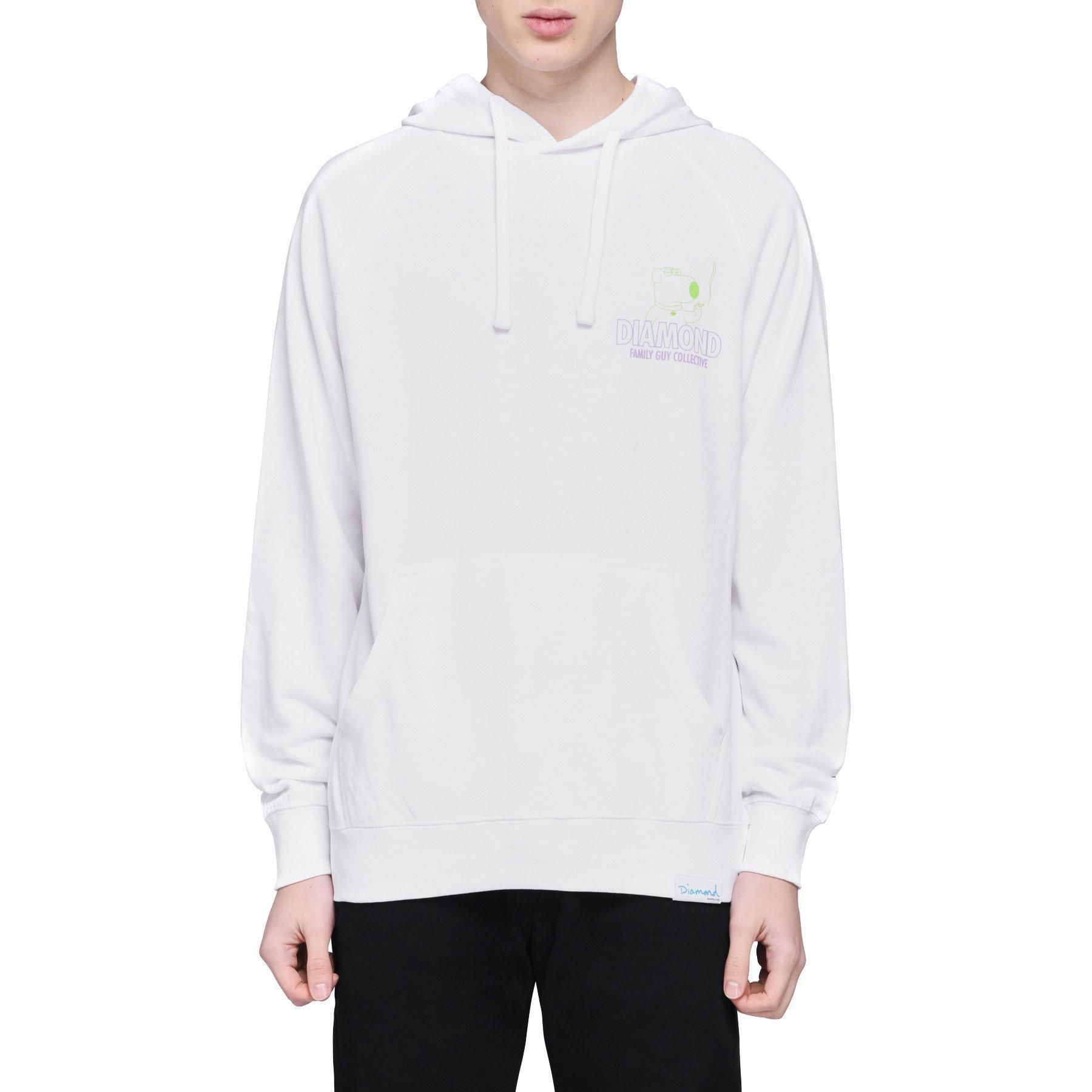 Diamond Supply Co. x Family Guy Collective Hoodie White