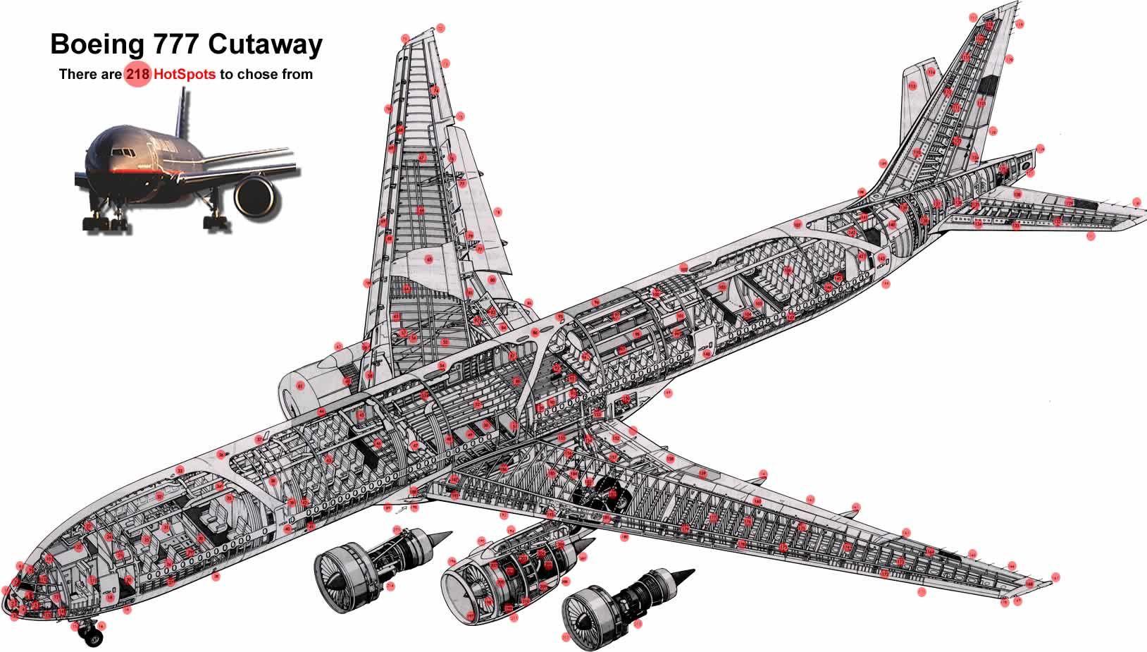 777 Cutaway View