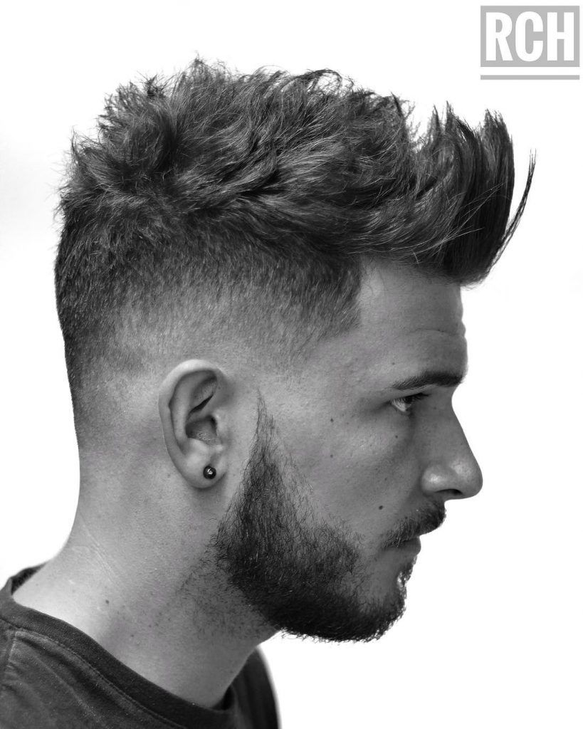 Charming Ryancullenhair Quiff Haircut For Men