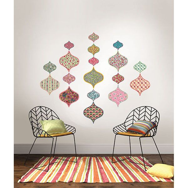 A Pretty Patterned Wall Kit Perfect For The Bohemian Beauty