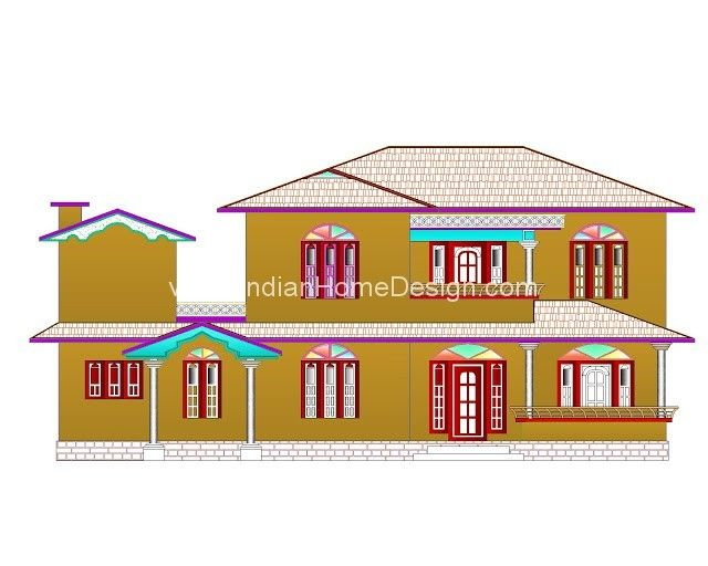 Best Kerala Muslim House (Home) Plan 5BHK Kerala - best of blueprint construction clipart