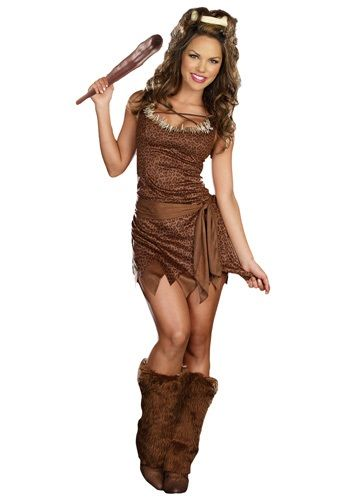 Wild Thing Cave Woman Costume  Halloween  Cavewoman -2577