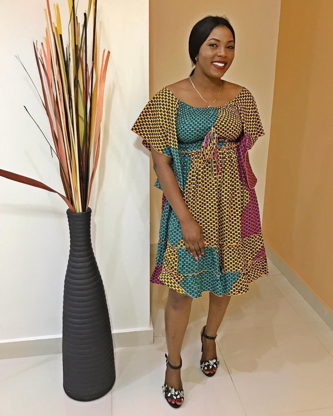African print dresses for weddings  Ankara Fashion Stunning  FashionForward and Trendy Ankara