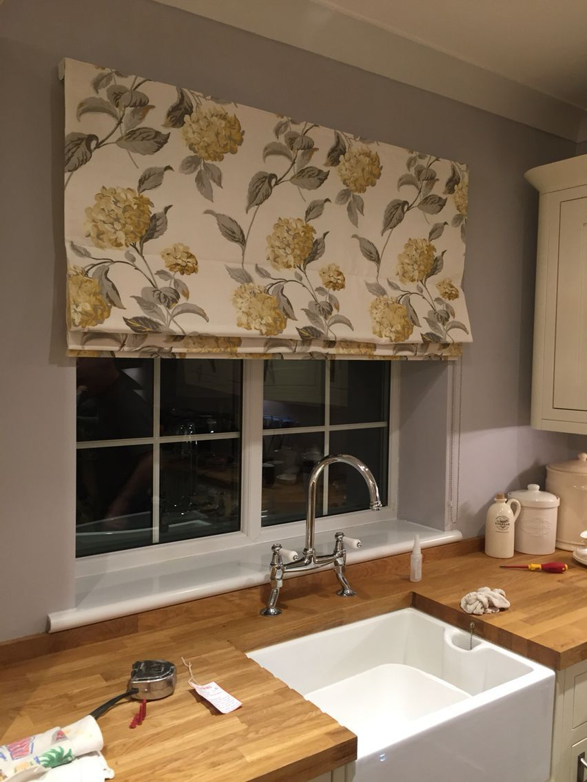 Roman Blind Laura Ashley Fabric