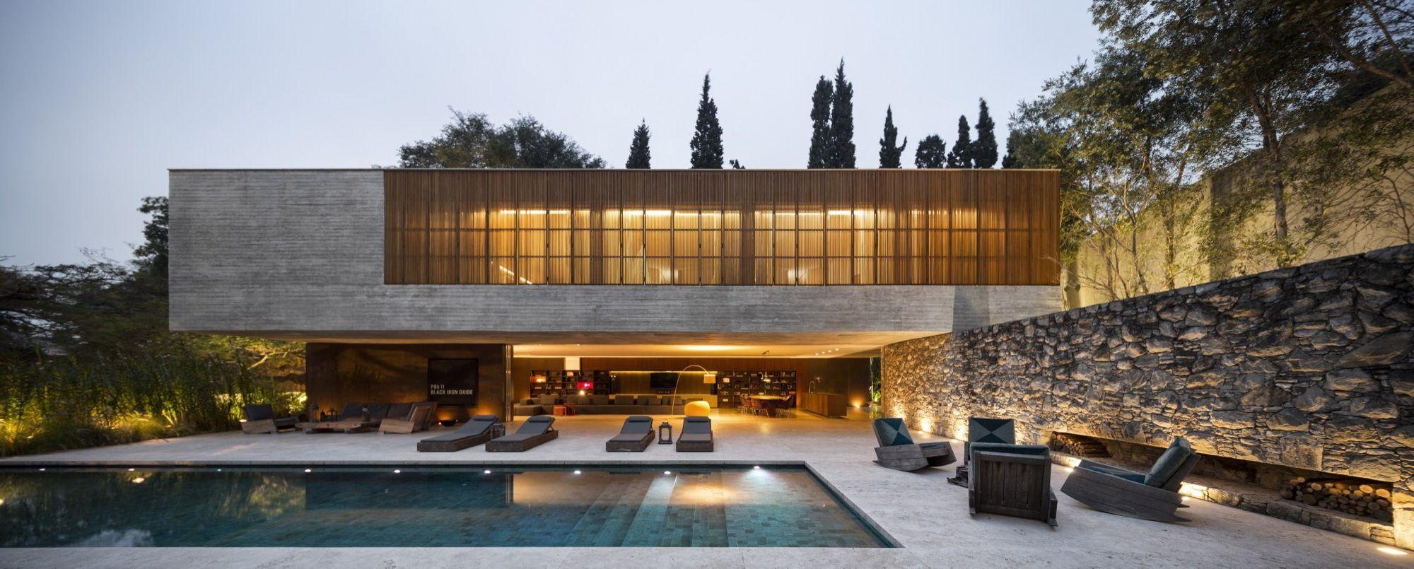 Open layout house concept by studio mk27 - Gallery Of Ipes House Studio Mk27 Marcio Kogan Lair Reis 2