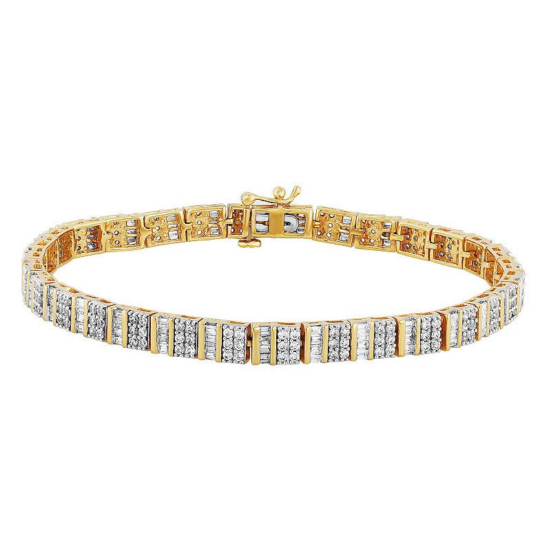 10k Gold 7 5 Inch Tennis Bracelet