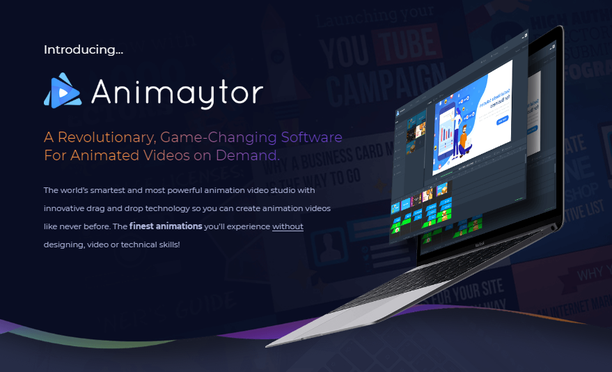 Animaytor OTO Upsell Animation Video Studio by Brett Ingram