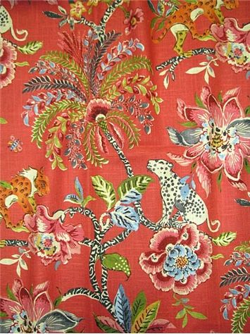 Traditional Elephant Multi Coloured Tapestry Designer Curtain//Upholstery Fabric