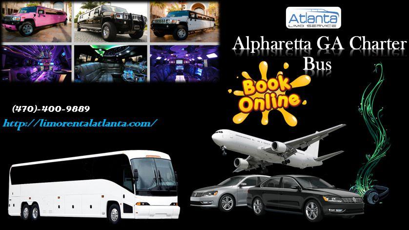 Alpharetta GA Charter Bus Chartered bus, Limo rental