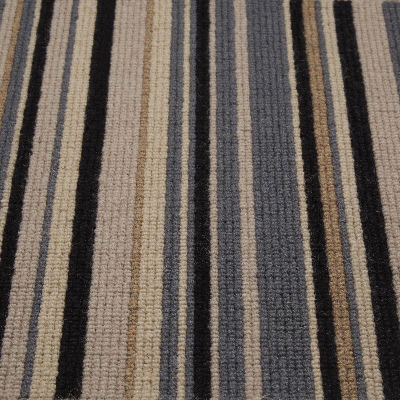 Teal Striped Carpet Home Safe