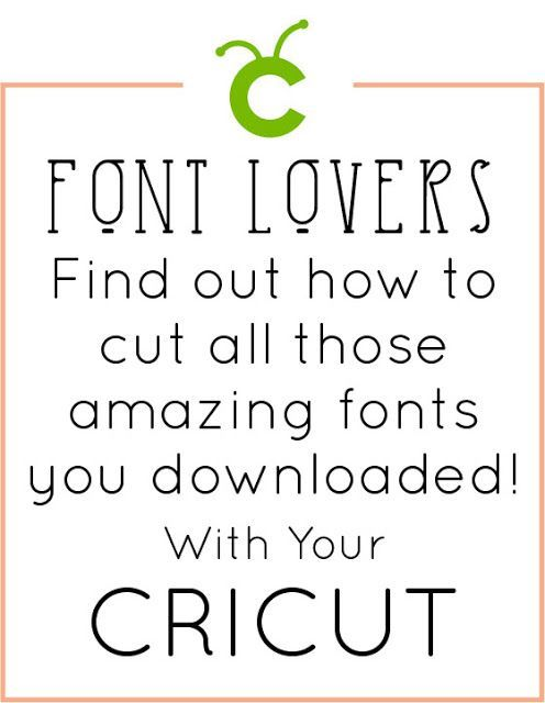 How to Use My Own Fonts with Cricut #cricutcrafts