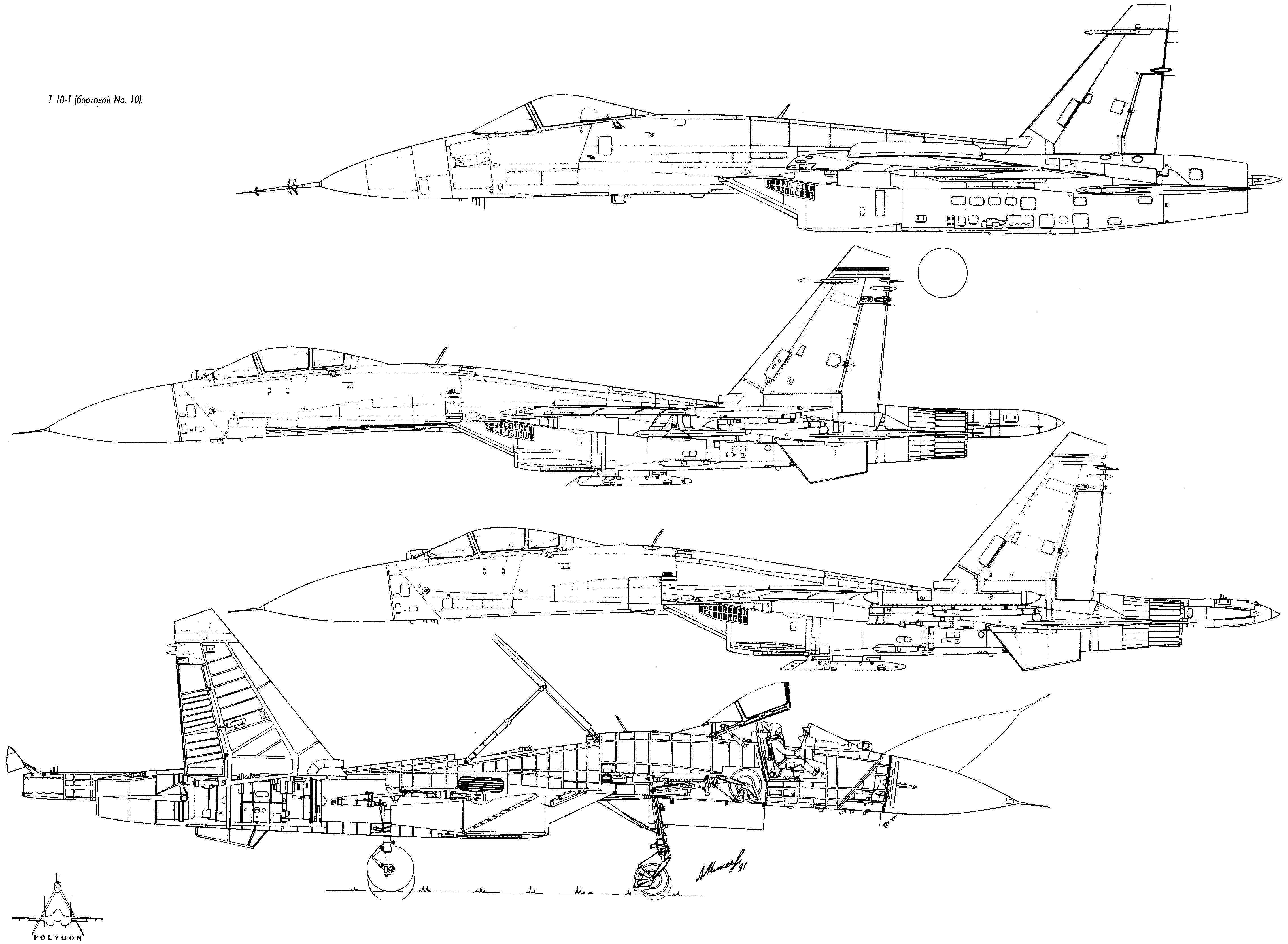 Su 27 blueprint pinterest sukhoi aircraft and aviation su 27 blueprint malvernweather Gallery
