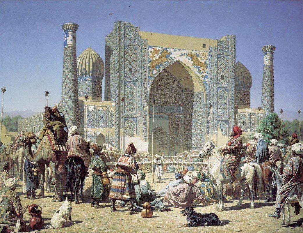 Василий Верещагин - Торжествуют (1872) | رسومات اسلامية و عربية ...