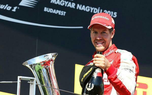 Sebastian Vettel wins the Hungarian GP 2015