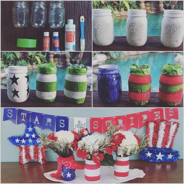 Bloomingmore's blog post shows you a simple way to give some #americanpride to your #farmfreshflowers for this years #4thofJuly BBQ!