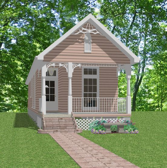 Details about Affordable Custom House Small Narrow Lot Home Blueprints Plans 3 bed 832sf PDF is part of Cottage home Blueprints -