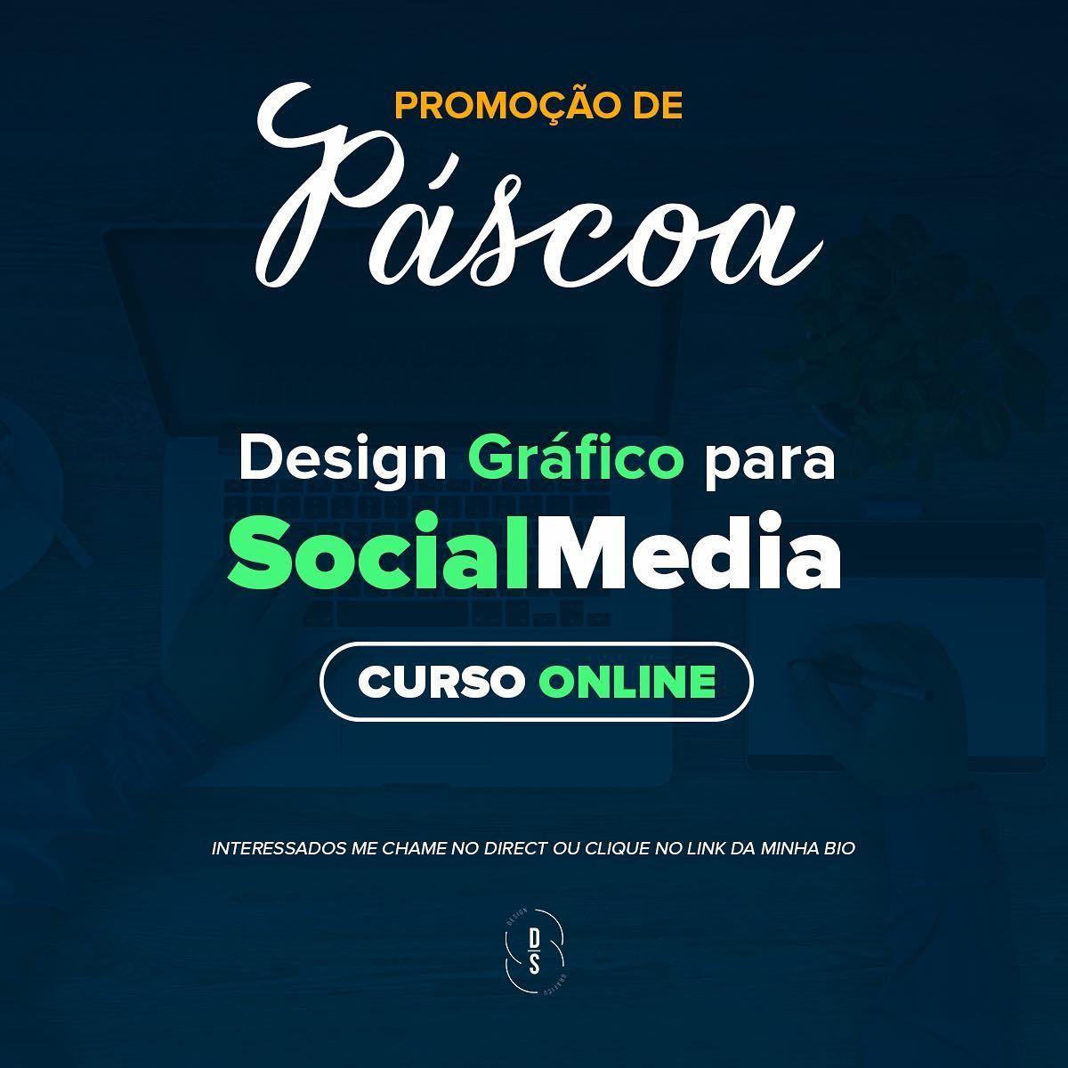 Promocao Nessa Pascoa Abrimos Uma Promocao Imperdivel Para Quem Quer Ser Um Designer De Sucesso Para Social Media Em 2020 Midias Sociais Curso Design Social Media