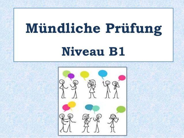 B1 Mundliche Prufung Language Dream Board Deutsch