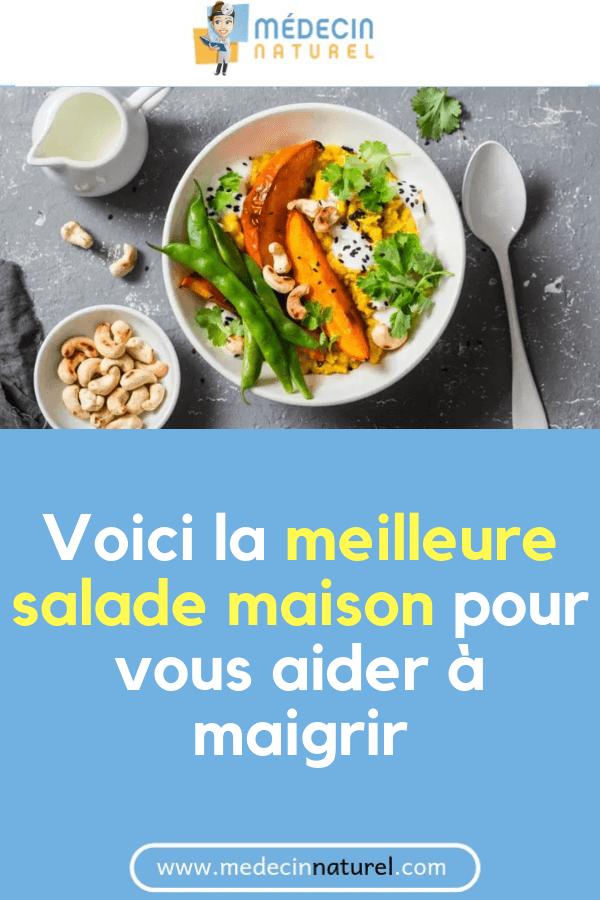 Voici la meilleure salade maison pour vous aider à perdre du poids - Medecin Naturel