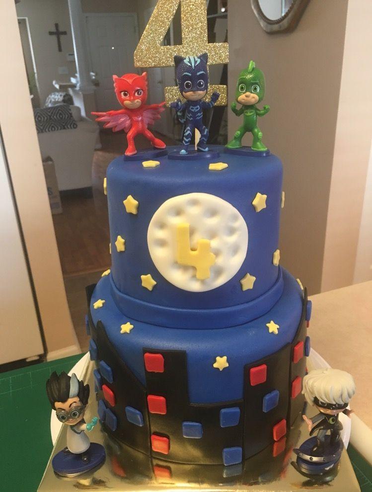pj mask cake  birthday cake kids cake pj masks cake
