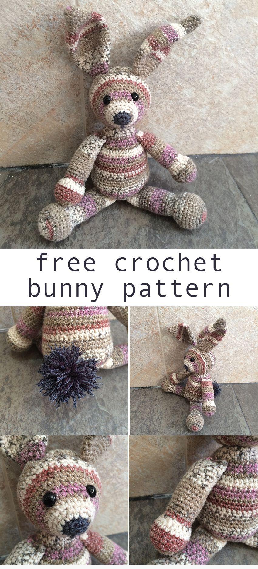 Crochet Bunny Pattern | Pinterest | Häkeln
