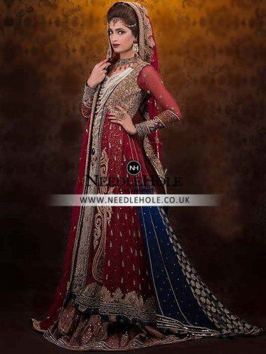 33b0f311e35d Find the best selection of #Asian #Desi #Gown #dresses for #Bride online at  Needlehole #fashion store
