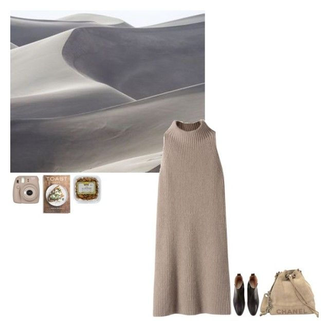 """""""look #184"""" by robbeka ❤ liked on Polyvore featuring STELLA McCARTNEY, Chanel and PHAIDON"""