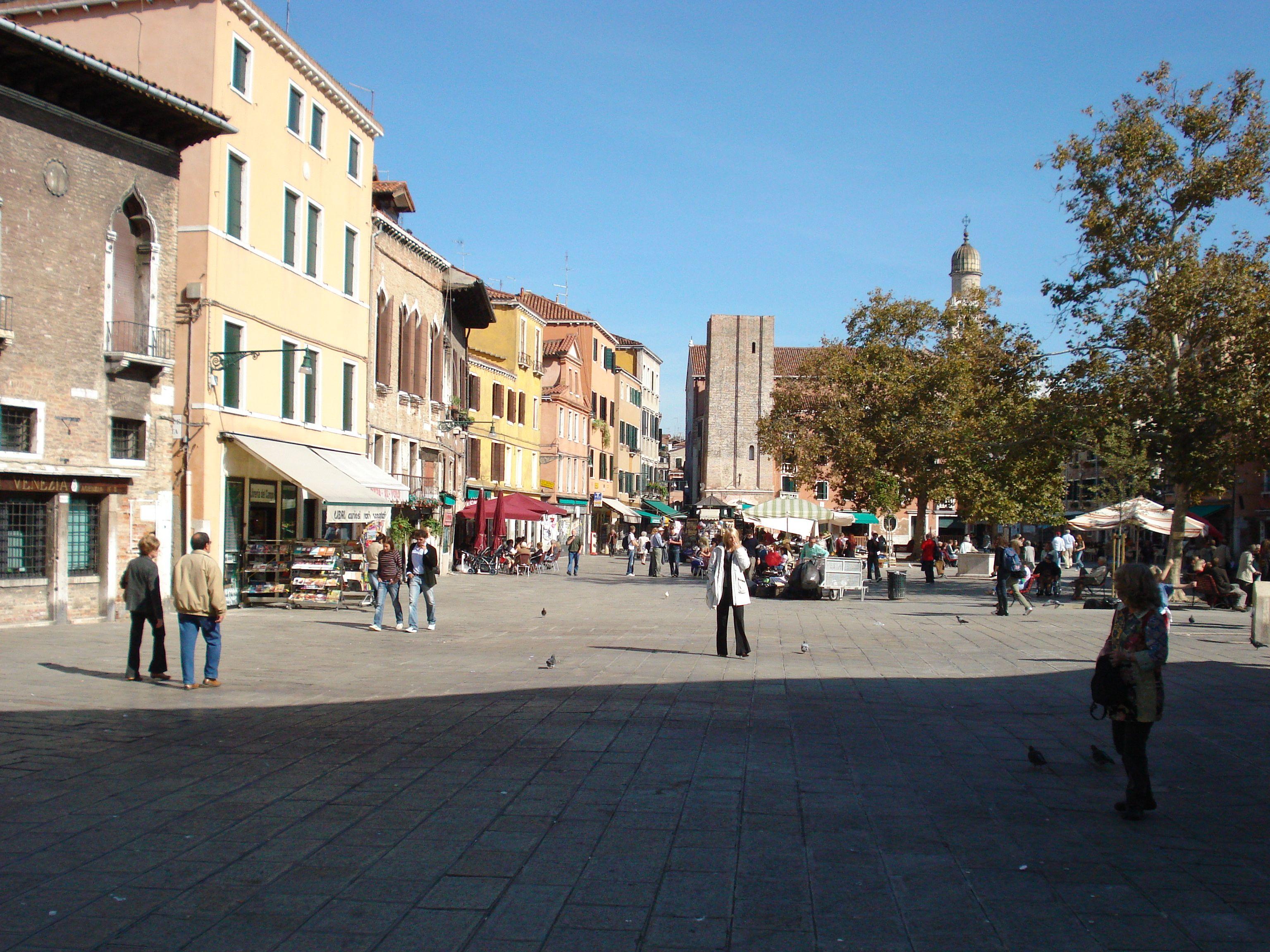 Campo Santa Margherita Venezia Venice Venezia Santa Margherita