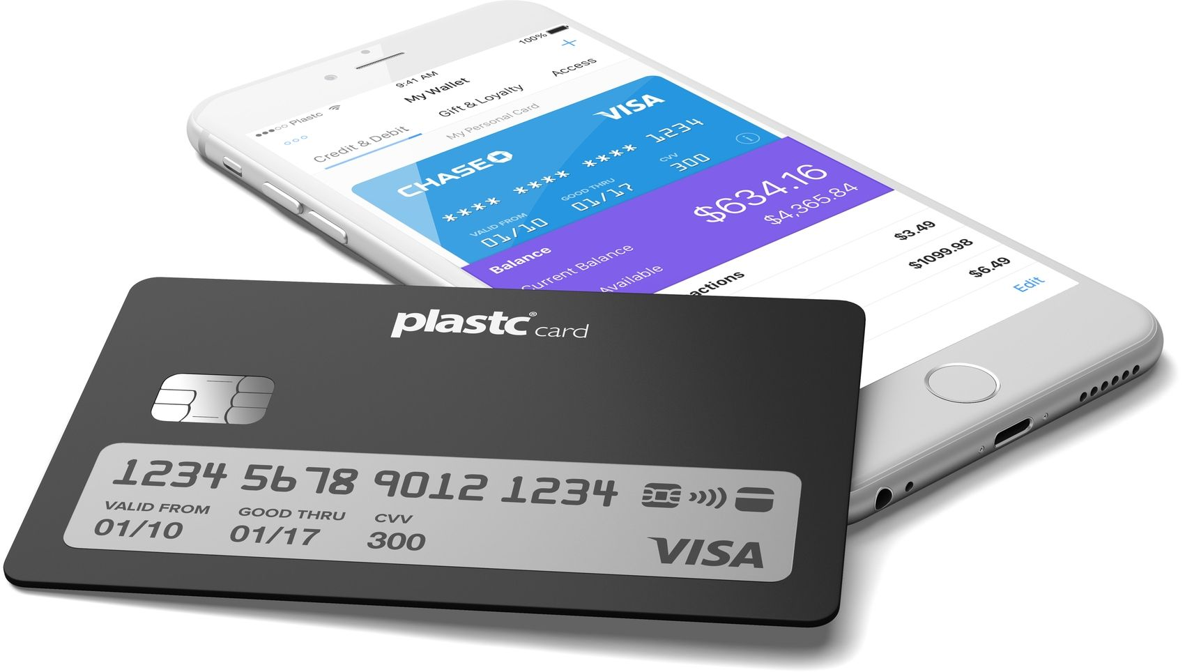 All cards on one card - Plastc Card Brings All Your Payment Cards Into One Sophisticated Device