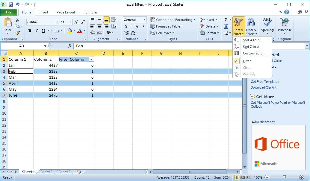 How To Delete Every Other Row in Excel (With images) Excel