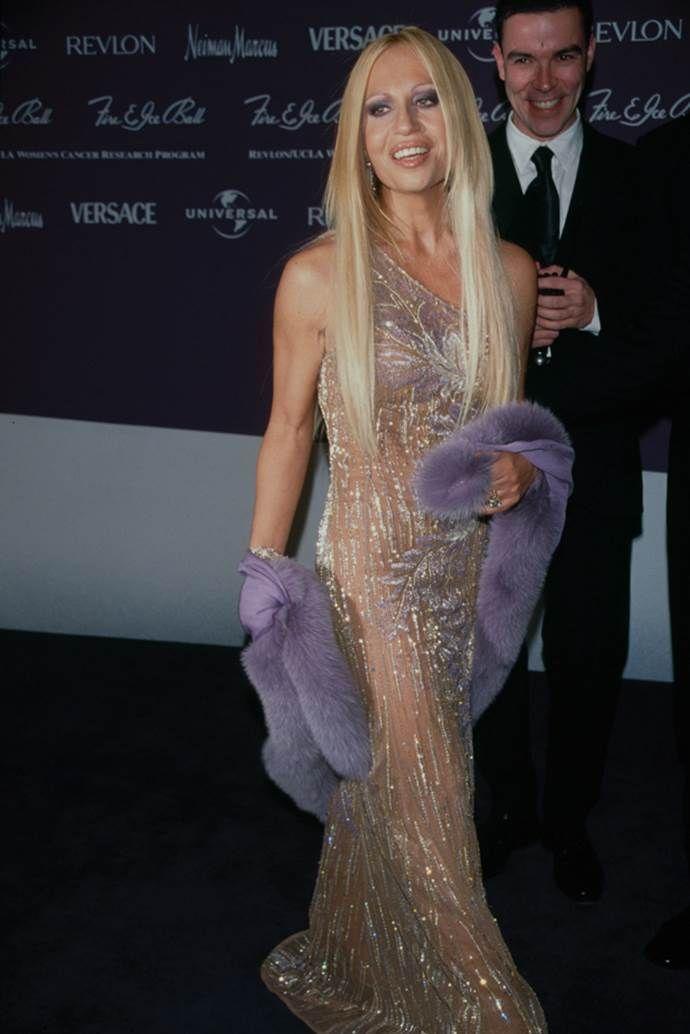 Young Donatella Versace The Evolution Of Donatella Donatella