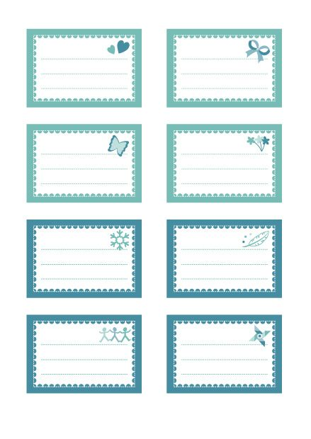 etiquettes pour cahiers imprimer mod le tendre bleu cahier gratuit et livre. Black Bedroom Furniture Sets. Home Design Ideas