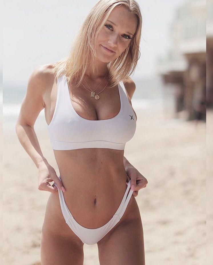1ae51df85a All white Venice set 🏳 yogi top x dual strap bottom ...
