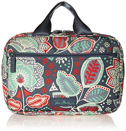 719e01d08bb Best Makeup Bag   Vera Bradley Luggage Womens Lighten Up Travel Organizer Nomadic  Floral Luggage Accessory -- Click on the image for additional details.