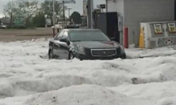Pictures Of Hail Storm In Colorado Springs