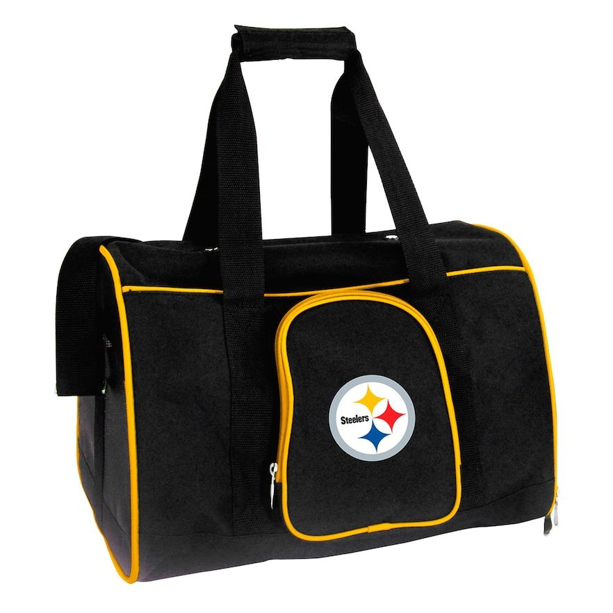 Mojo Pittsburgh Steelers 16-Inch Pet Carrier